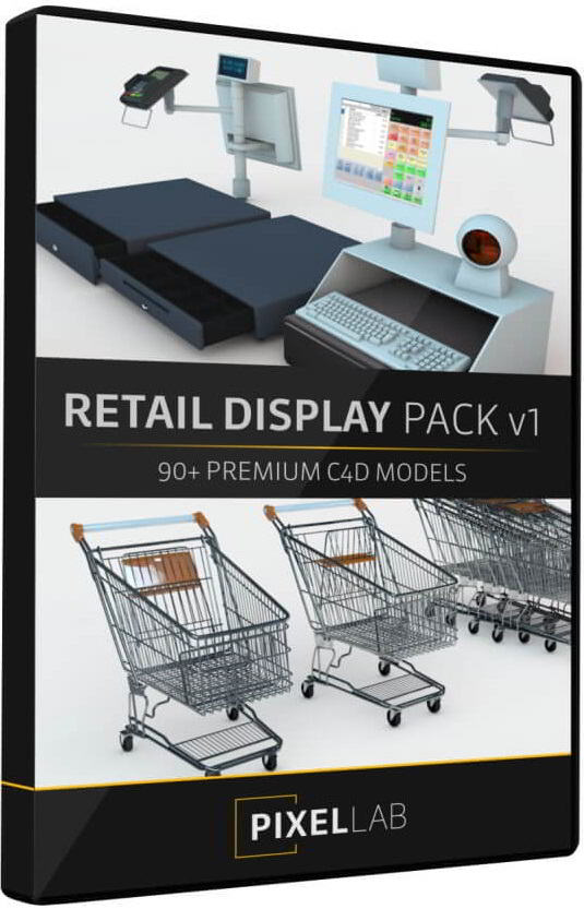 The Pixel Lab – Retail Display Pack V1 Launch free download