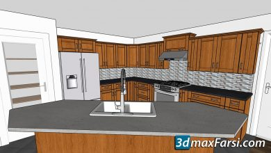 Lynda – SketchUp Pro: Kitchen Design free download