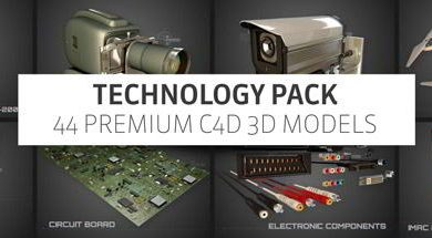 The Pixel Lab – Tech Pack for Cinema 4D