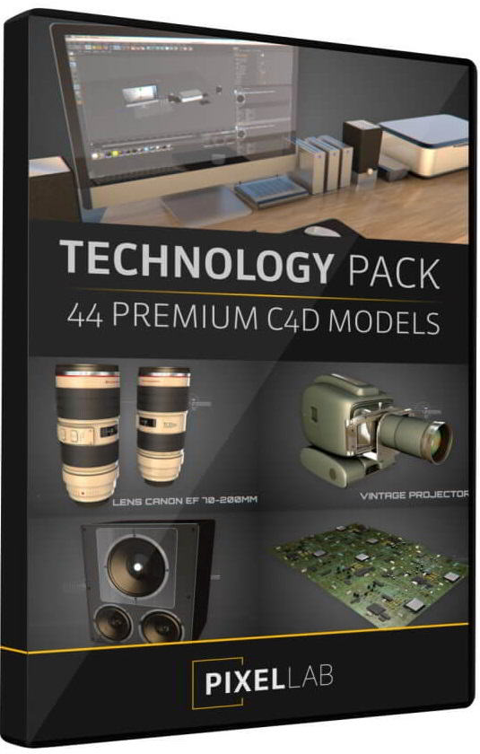 The Pixel Lab – Tech Pack for Cinema 4D free download