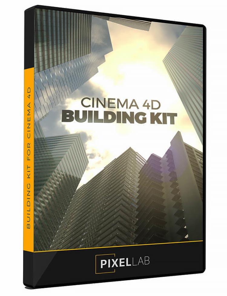 The Pixel Lab – Cinema 4D Building Kit free download