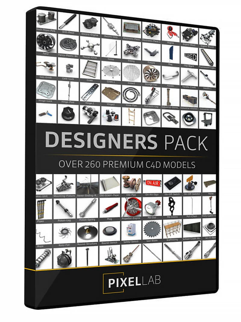 The Pixel Lab – Designers Pack free download