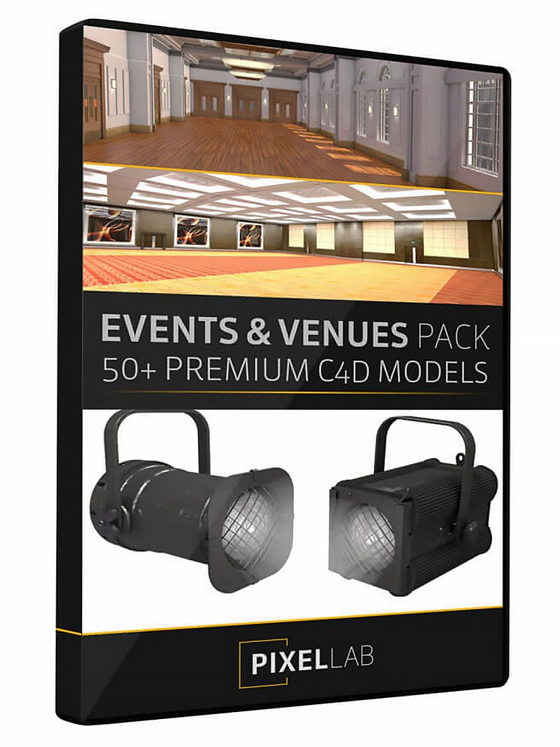 the pixel lab events & exhibition pack 2.0 for cinema 4d free download