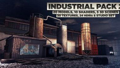 The Pixel Lab – Industrial Pack 2 for Cinema 4D