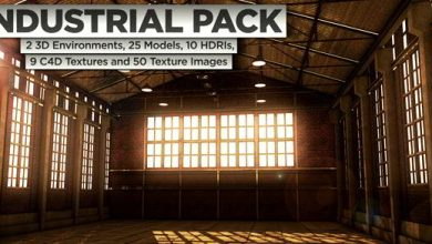 The Pixel Lab – Industrial Pack for Cinema4D