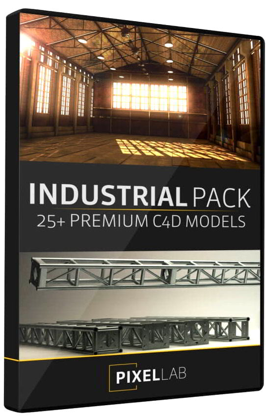 The Pixel Lab – Industrial Pack for Cinema4D free download