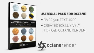 The Pixel Lab Material Pack for Octane Cinema 4D
