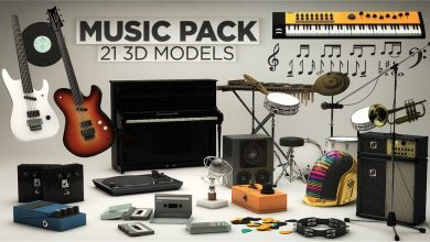 The Pixel Lab – Music Pack for Cinema4D