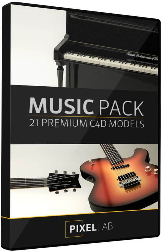 The Pixel Lab – Music Pack for Cinema4D free download