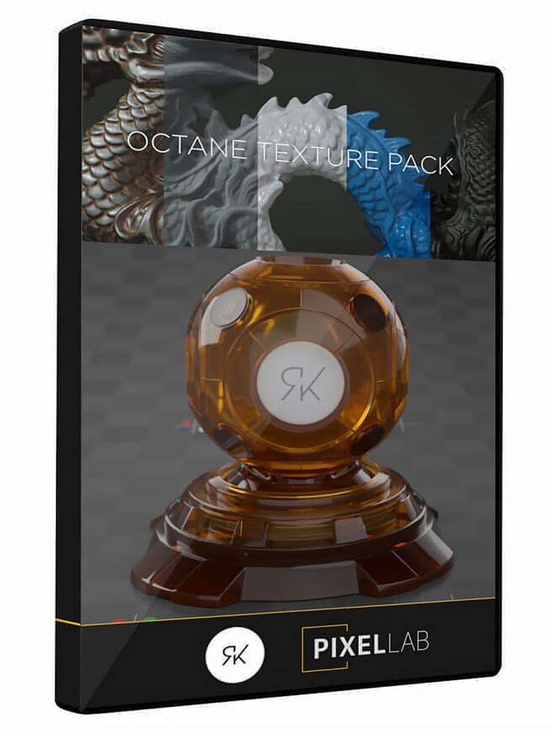 The Pixel Lab – Octane Texture Pack Pro free download