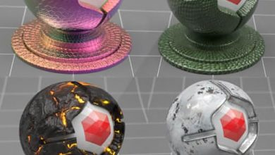 The Pixel Lab – Redshift C4D Material Pack 3