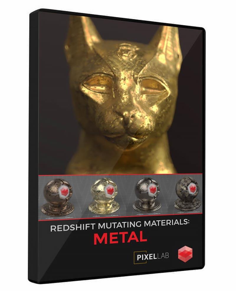 The Pixel Lab – Redshift Mutating Materials: Metal free download
