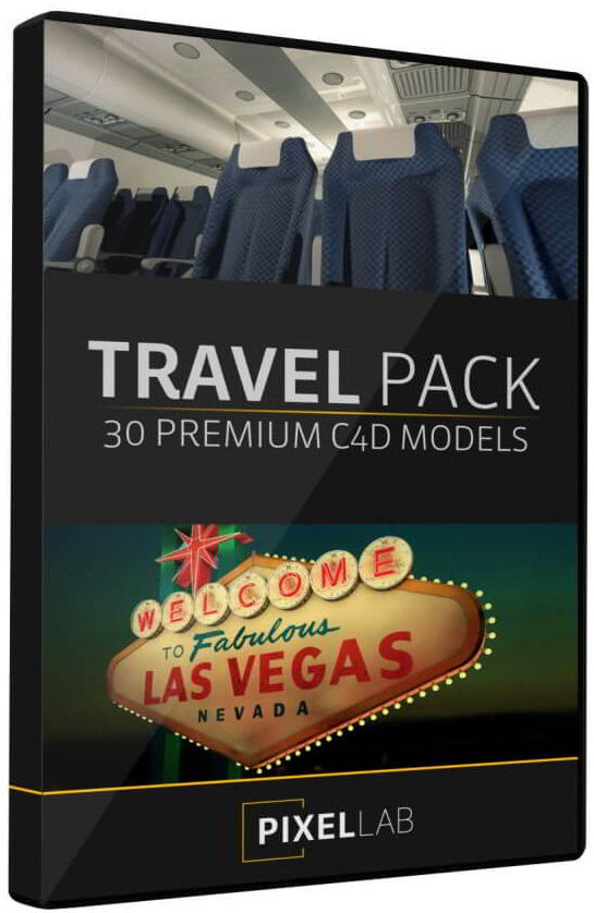 The Pixel Lab – Travel Pack for Cinema 4D free download