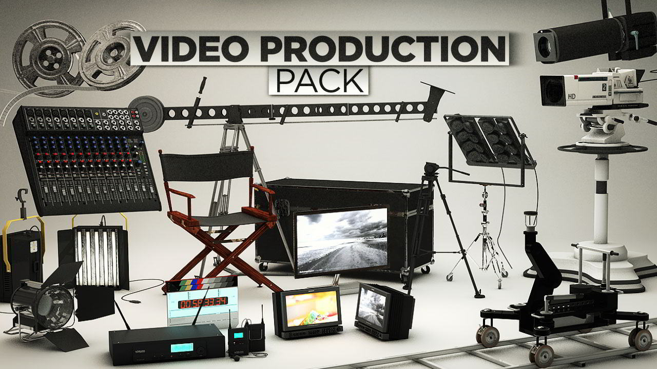 The Pixel Lab – Video Production Pack for Cinema4D free download