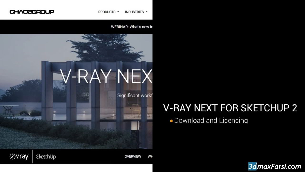 Udemy – Vray Next For Sketchup Exterior free download