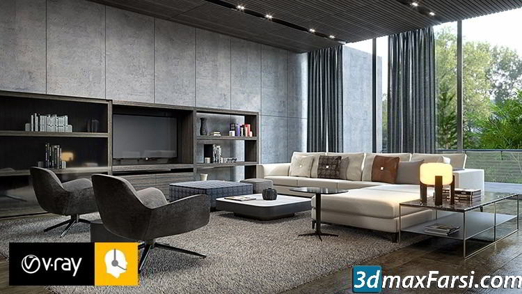 Udemy – Vray Next Sketchup : Making An Interior Quality Render free download