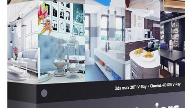 3D Interiors – CGAxis Collection Volume 3 free download