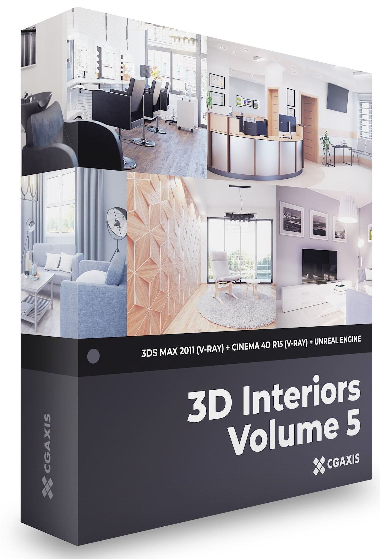 3D Interiors – CGAxis Collection Volume 5 free download