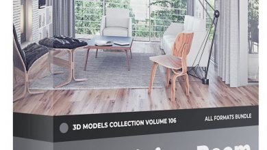 CGAxis – Furniture 3D Models Collection – Volume 106 free download