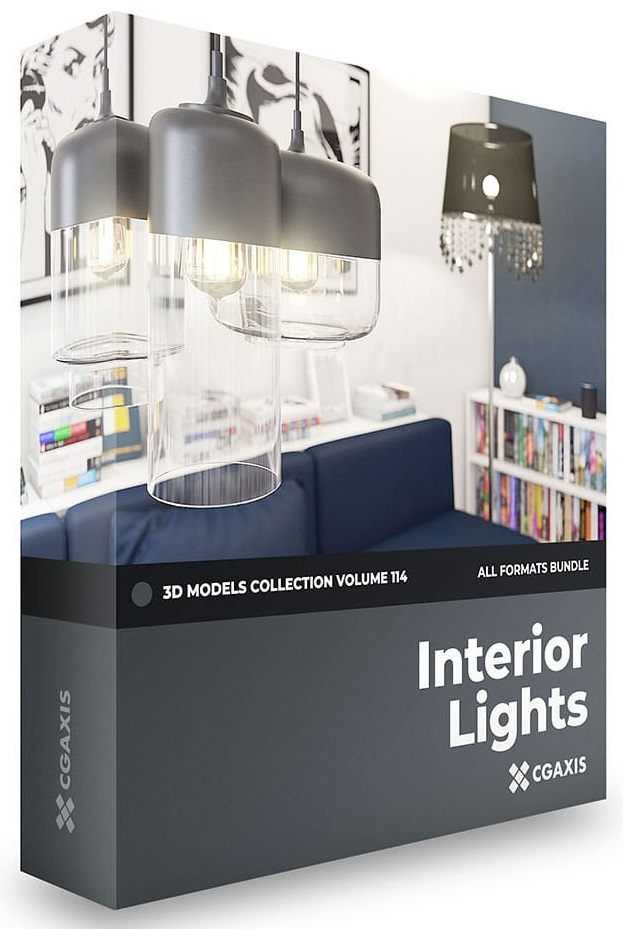 CGAxis – Interior Lights 3D Models Collection – Volume 114 free download