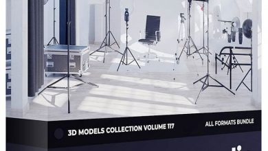 CGAxis Photo Equipment 3D Models Collection Volume 117 free download