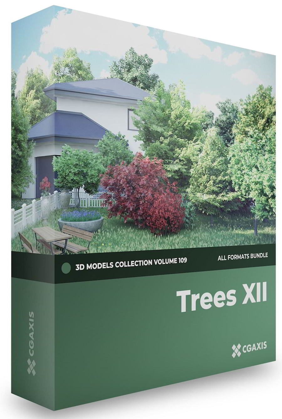 CGAxis – Trees 3D Models Collection – Volume 109 free download