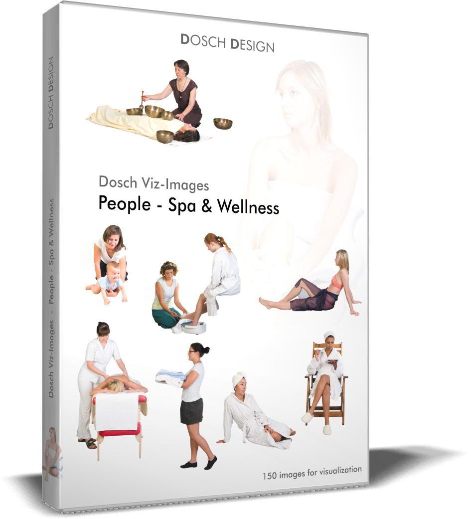 DOSCH 2D Viz-Images - Artlantis Billboards - People - Spa & Wellness free download