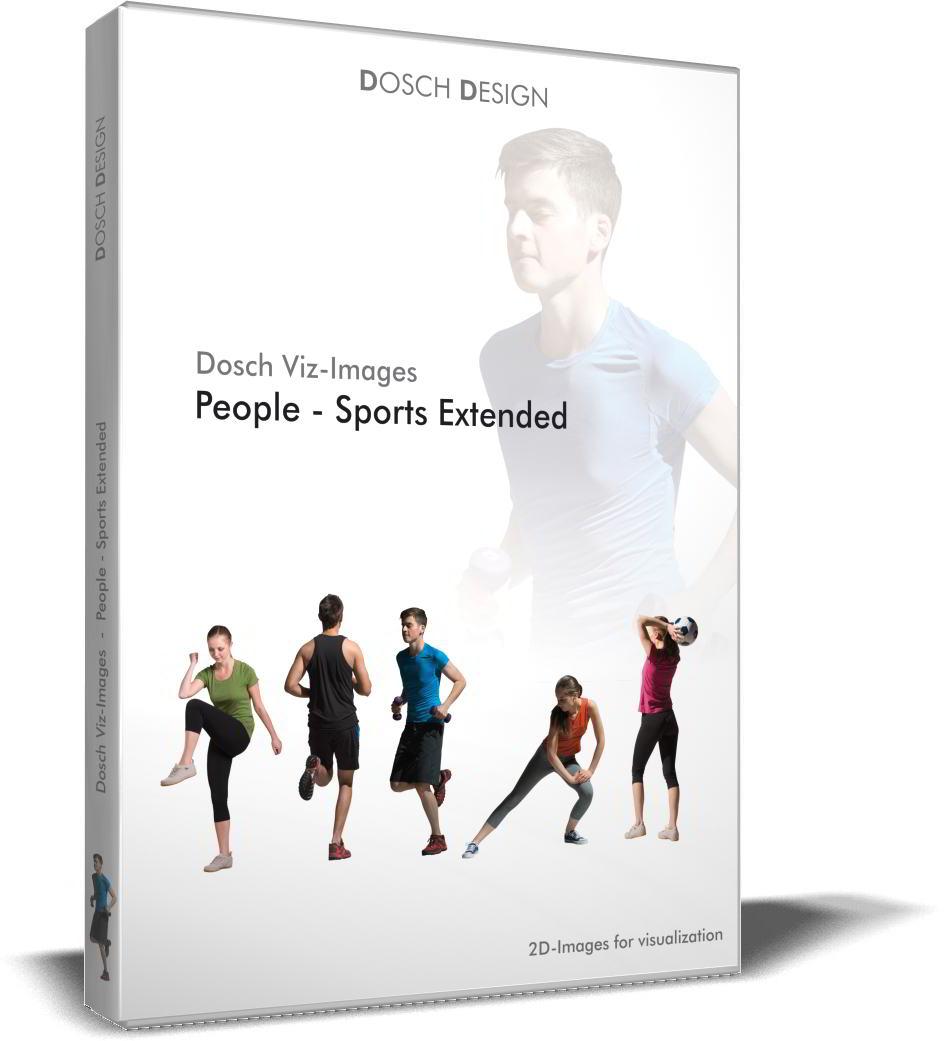DOSCH 2D Viz-Images - Artlantis Billboards - People - Sports Extended free download