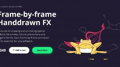 Motion Design School – Frame-by-frame Handdrawn FX free download