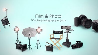 PixelSquid – Film and Photo Collection free download