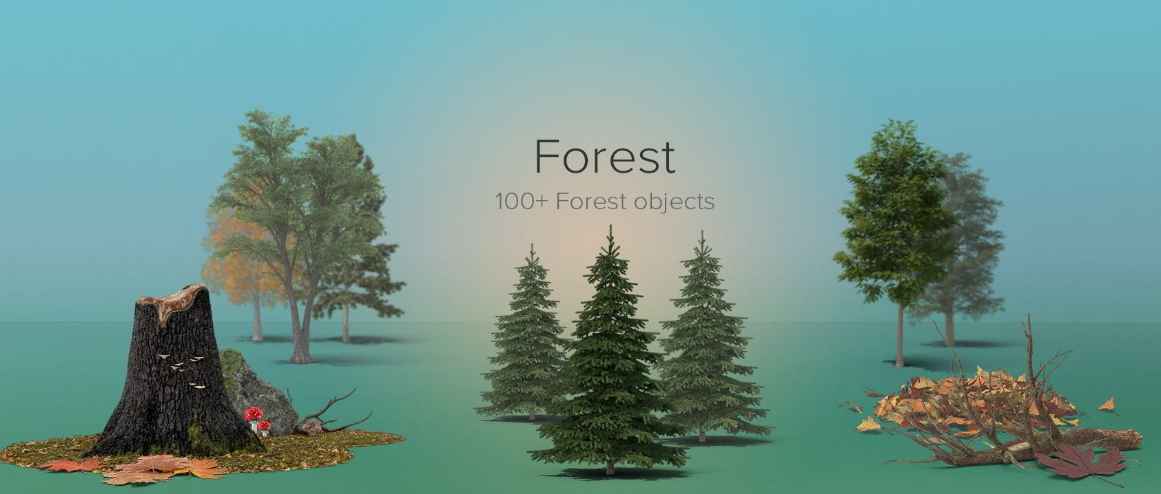 PixelSquid – Forest Details Collection free download