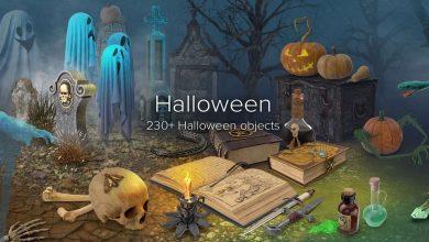 PixelSquid – Halloween Collection free download