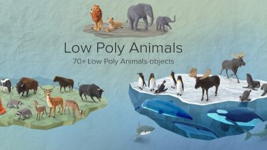 PixelSquid – Low Poly Animals Collection free download