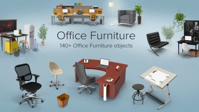PixelSquid – Office Furniture Collection free download