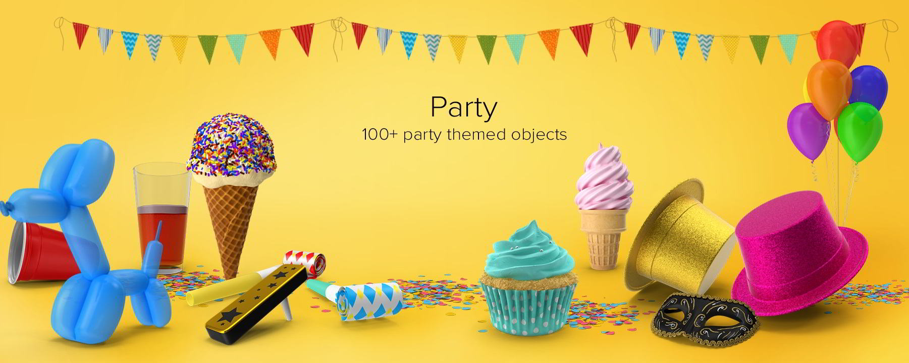 PixelSquid – Party Collection free download