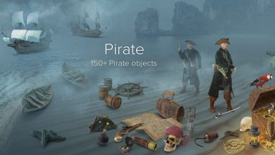 PixelSquid – Pirate Collection free download