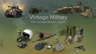 PixelSquid – Vintage Military Collection free download