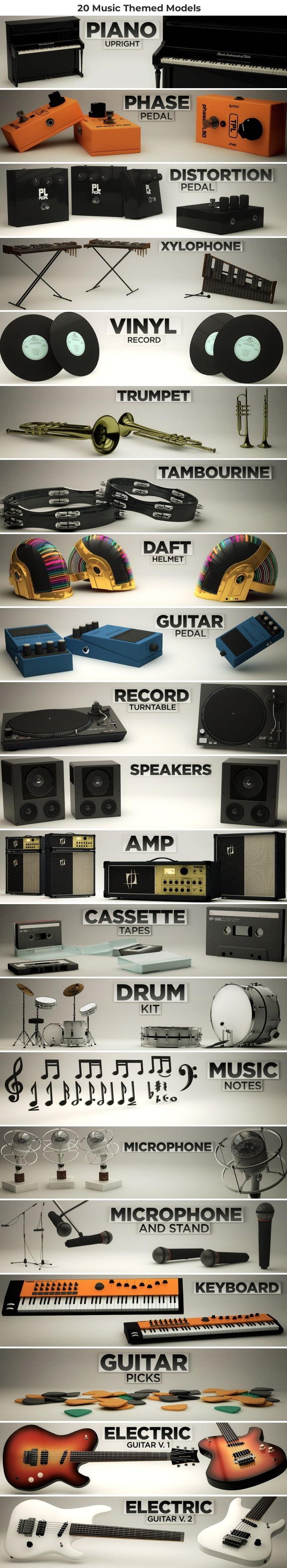 Music Pack for Cinema 4D