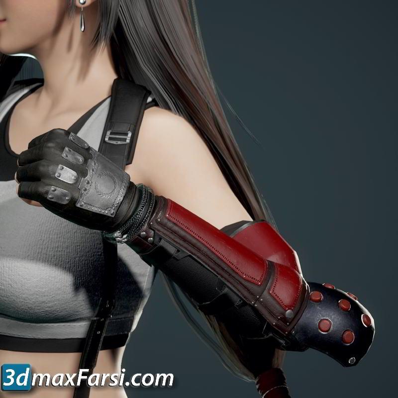TurboSquid – 3D Tifa Lockhart + Daz conversion free download