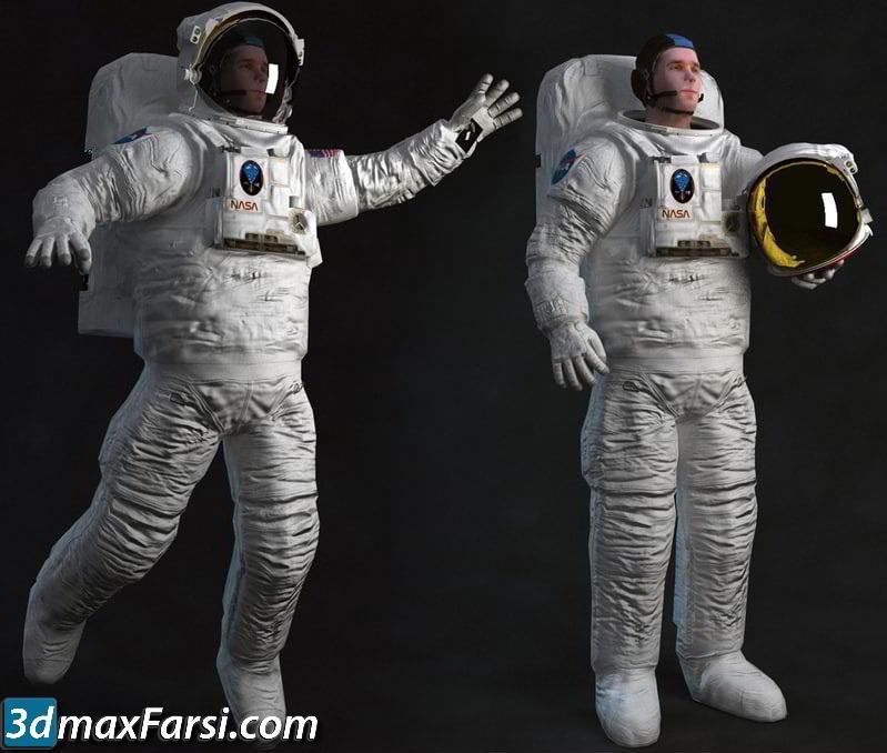 TurboSquid – Astronaut Rigged free download