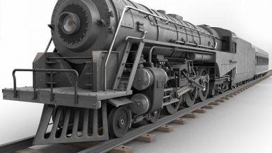 TurboSquid – Berkshire Steam Locomotive free download