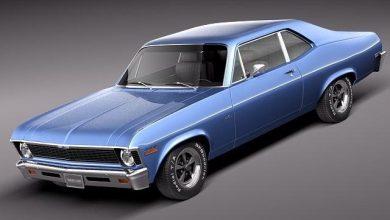 TurboSquid – Chevrolet Nova 1969