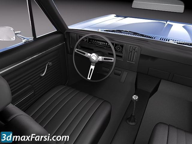 TurboSquid – Chevrolet Nova 1969 free download
