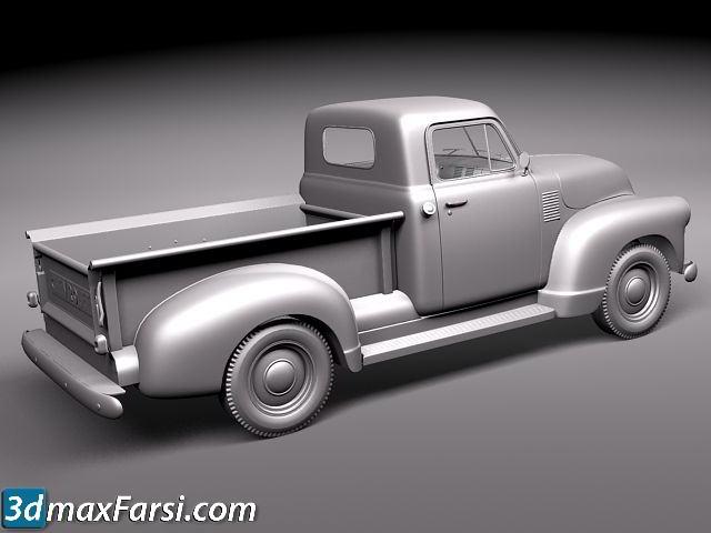 TurboSquid – Chevrolet Pickup 1950