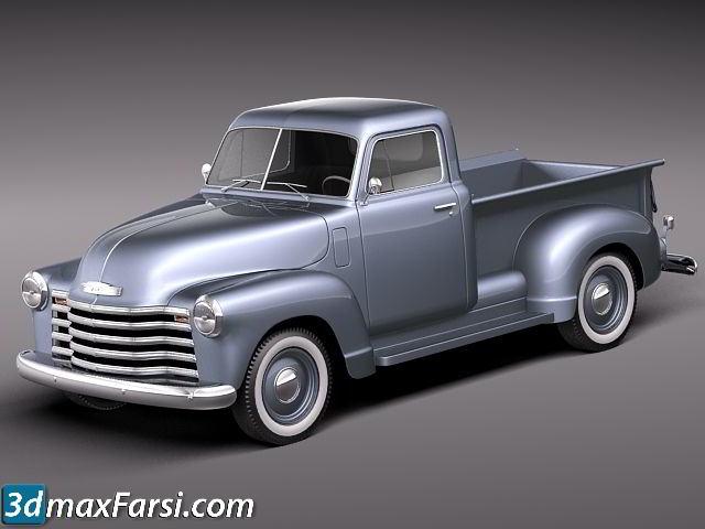 TurboSquid – Chevrolet Pickup 1950 free download