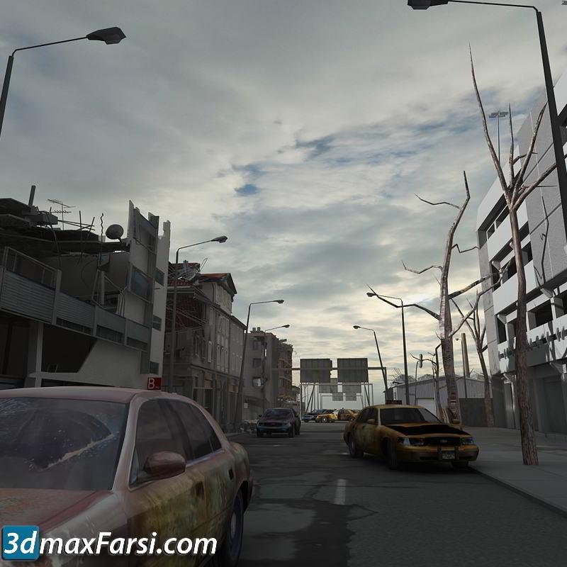 TurboSquid – Destroyed City Blocks