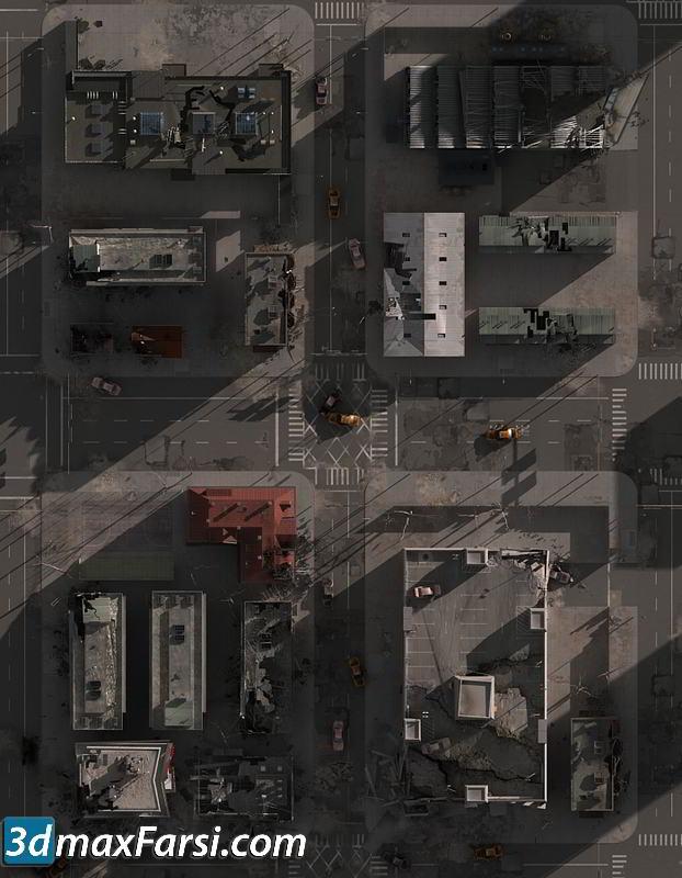 TurboSquid – Destroyed City Blocks top