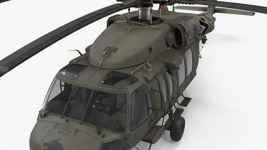 TurboSquid – Sikorsky UH-60 Black Hawk US Military Utility Helicopter free download