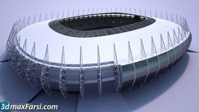 TurboSquid – Soccer Stadium download