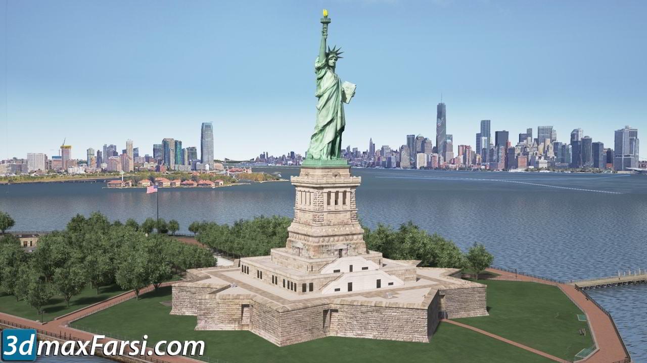 TurboSquid – Statue of Liberty free download